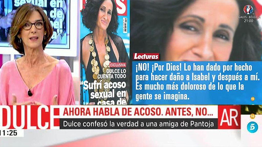 La confesión de Dulce a una amiga de Pantoja: tenía 'algo' con Julián Muñoz