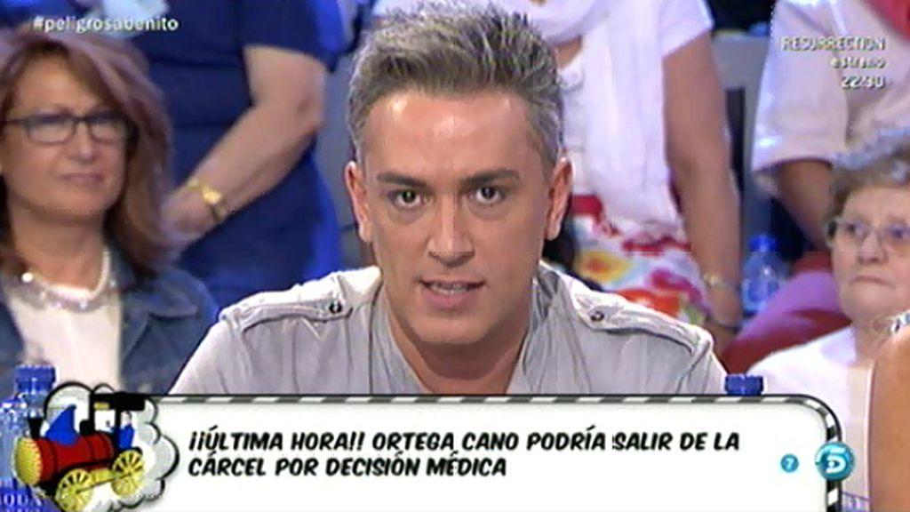 Un médico forense examinará a Ortega Cano para decidir si se le concede la excarcelación