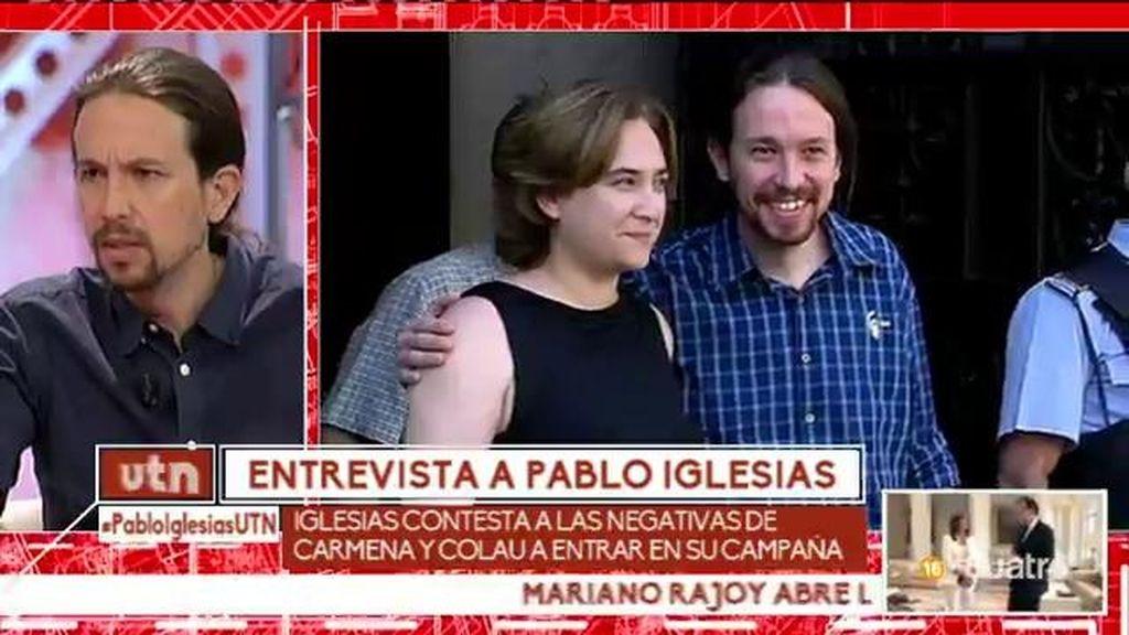 """Pablo Iglesias, sobre la cuestión catalana: """"Creo que Cataluña es una nación"""""""