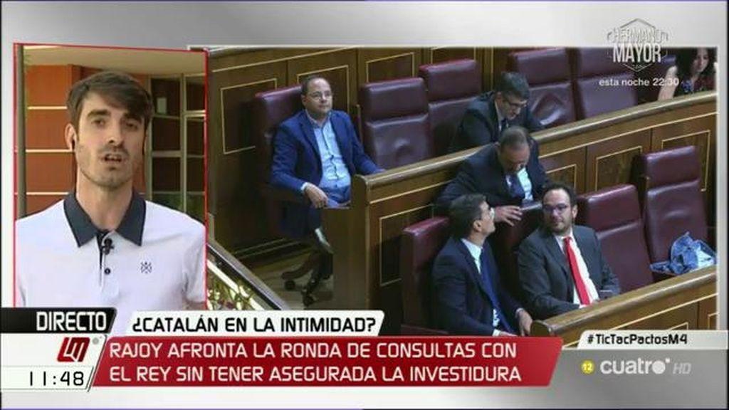 """P. Simón: """"Tiene que haber una abstención y para el PSOE será más cómodo cuanto más próximo esté el PP a la mayoría absoluta"""""""