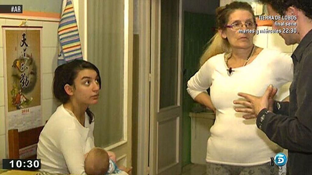 Aroa lucha por recuperar la tutela de su hijo mayor y no perder al pequeño