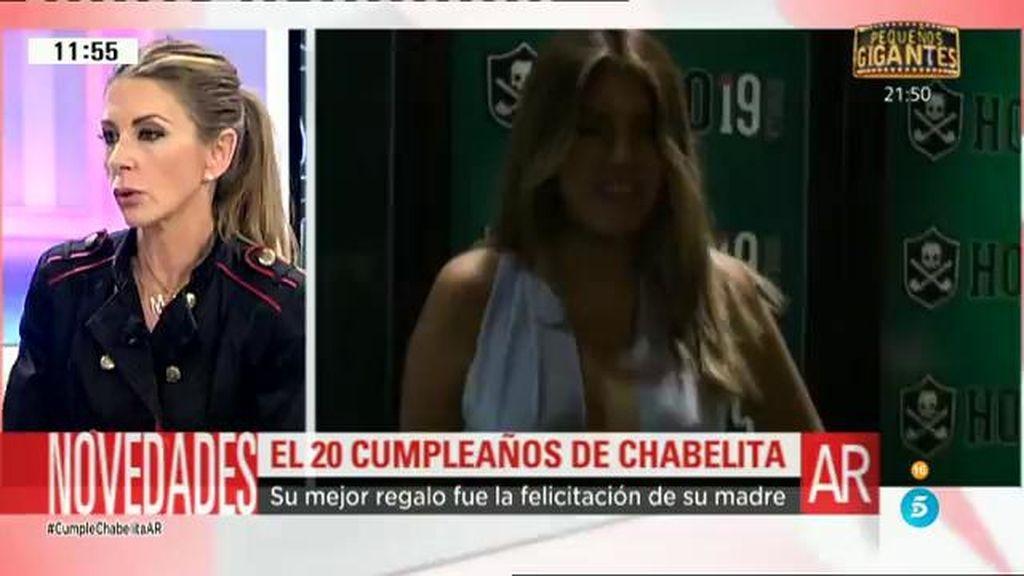 """Marisa M. Blázquez: """"Hubo un regalo que le hizo ilusión a Chabelita, su madre la felicitó"""""""