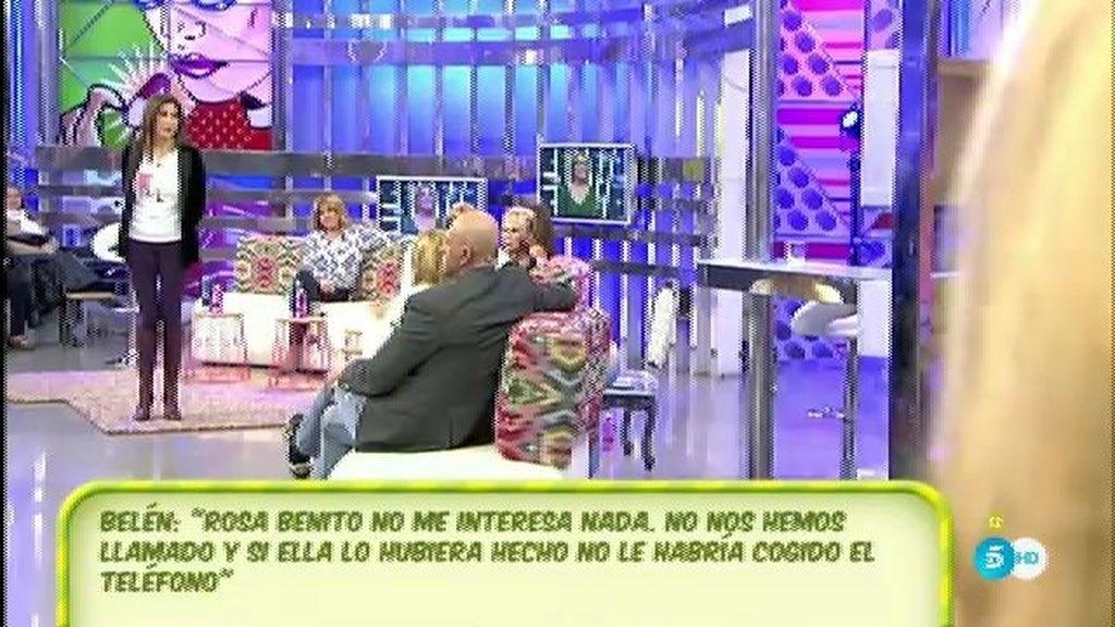 Rosa Benito y Belén Esteban vuelven a verse las caras en 'Sálvame'