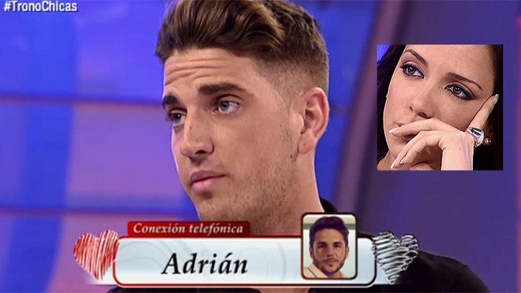 "Jonathan: ""Me dijo Samira que se había visto 3 ó 4 veces con Adrián y que le perdonase"""