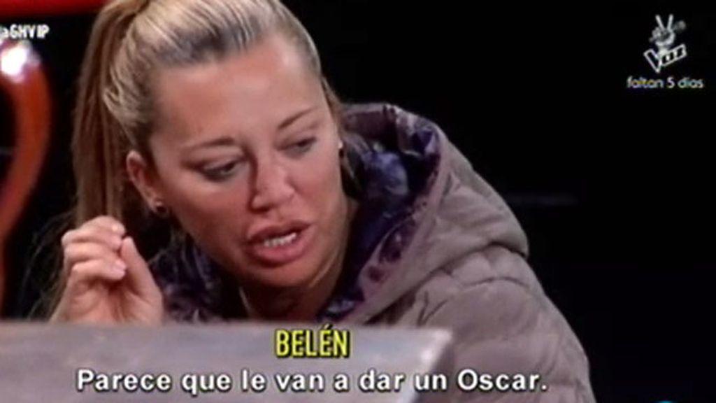 """Belén, sobre Ángela y su esfuerzo en la obra de teatro: """"Parece que le van a dar un Oscar"""""""