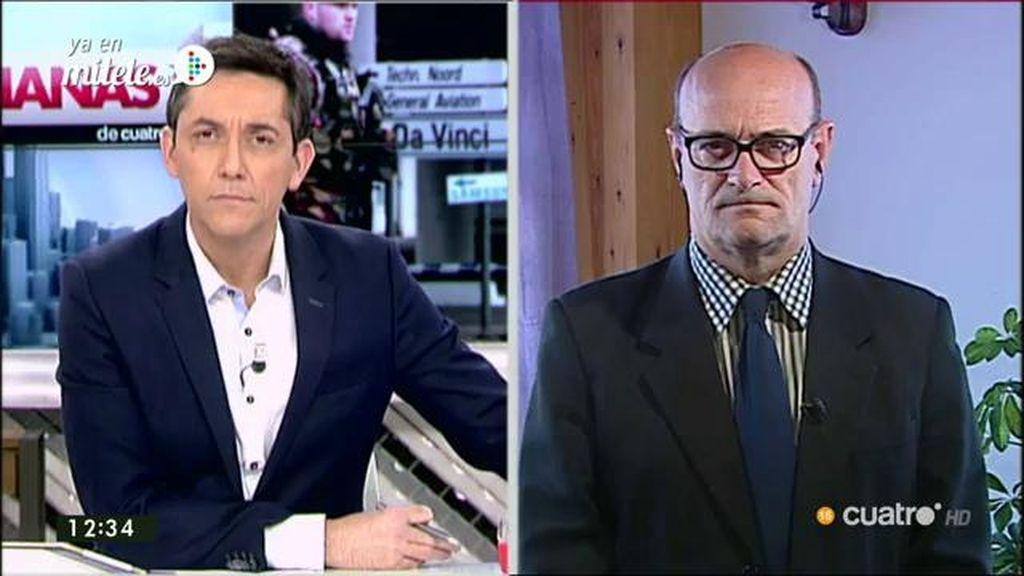 """José María Gil Garre: """"Es posible que los operativos de los últimos días hayan precipitado un ataque que estaba previsto"""""""