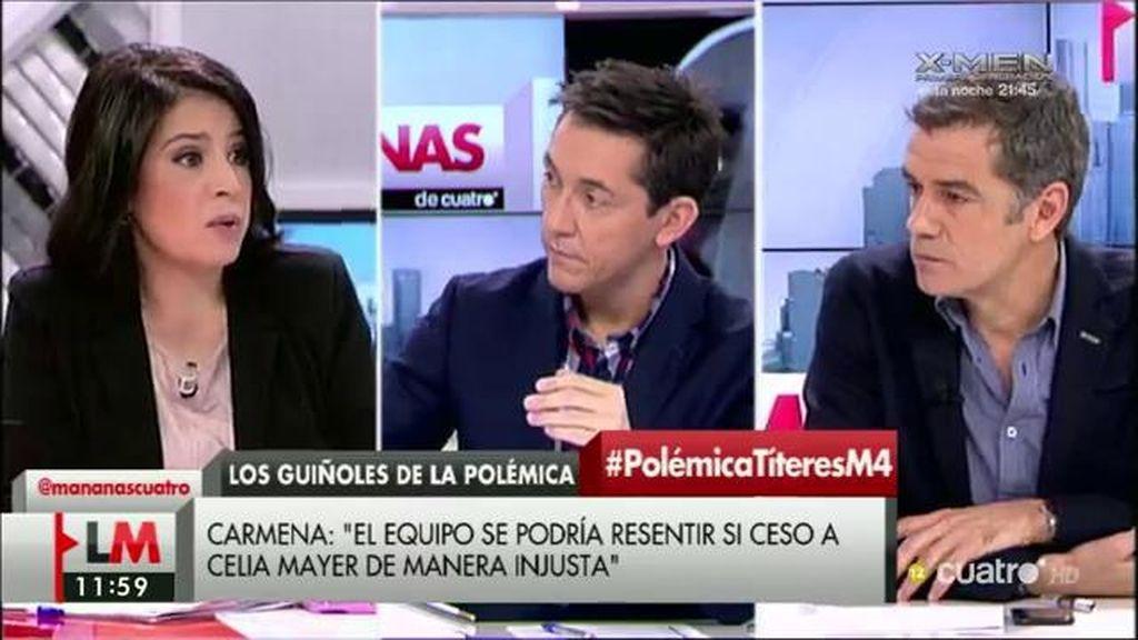 """Toni Cantó, a Miguel Vila: """"Es impresentable la actuación de tu grupo en el Ayuntamiento a nivel cultural"""""""