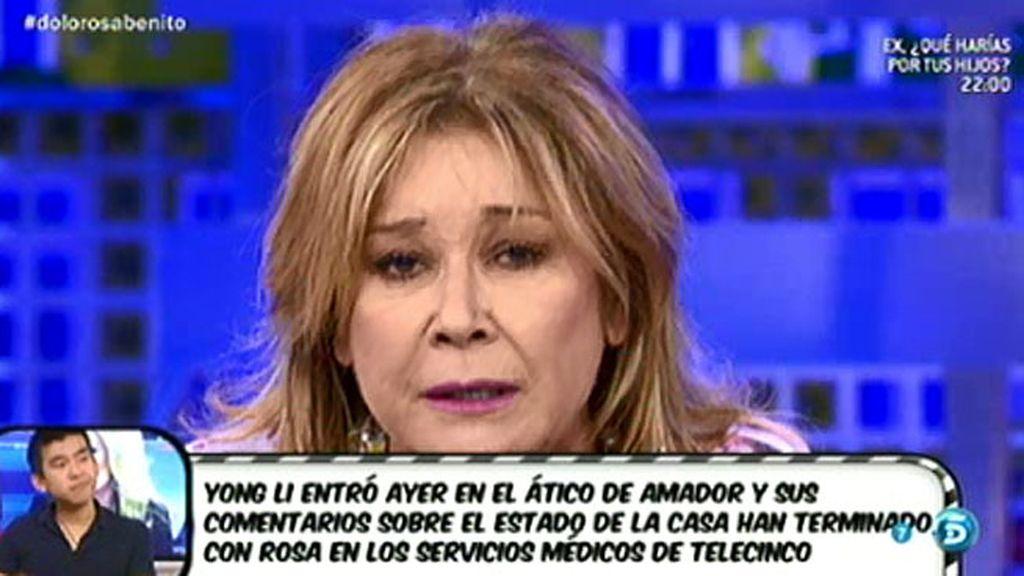 """Mila Ximénez, a Amador: """"Tenemos noticias sobre ti que nos callamos por Rosa"""""""
