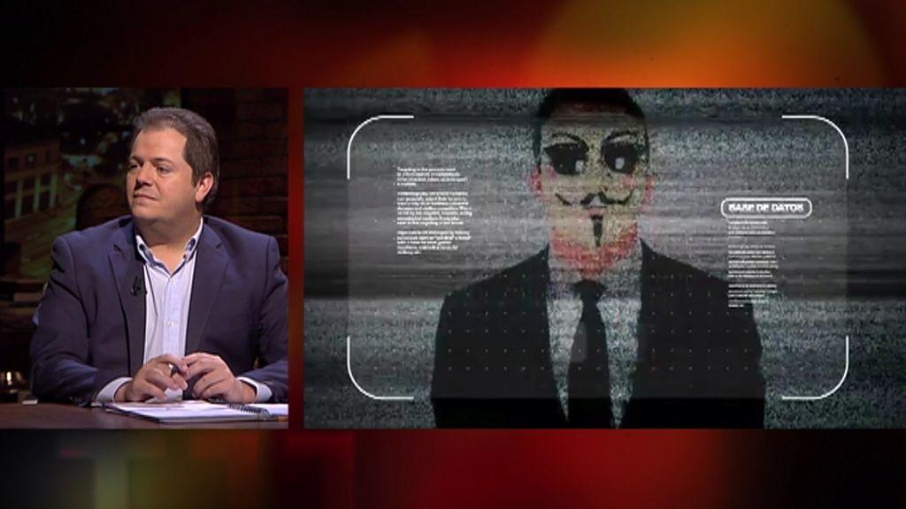 "Alejandro Suárez: ""Anonymous es un Robin Hood moderno del siglo XXI"""