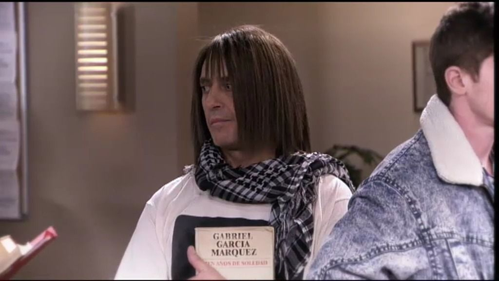 Chema tiene miedo a devolver un libro de la biblioteca treinta años después