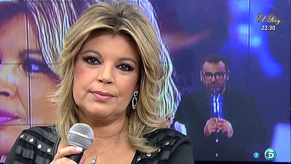 """Terelu Campos: """"Fue muy complicado ver el 'Deluxe' y el programa de ayer"""""""