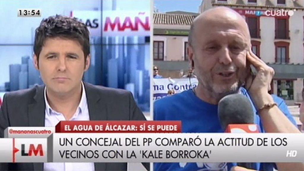 """Juan Garrido: """"El agua es un derecho humano y no debe estar sujeto a mercadeo"""""""