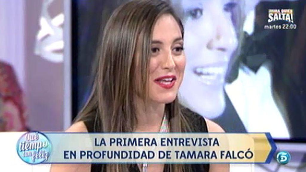 """Tamara Falcó: """"Tengo muy buena relación con la prensa, muchas veces pasan de mi"""""""