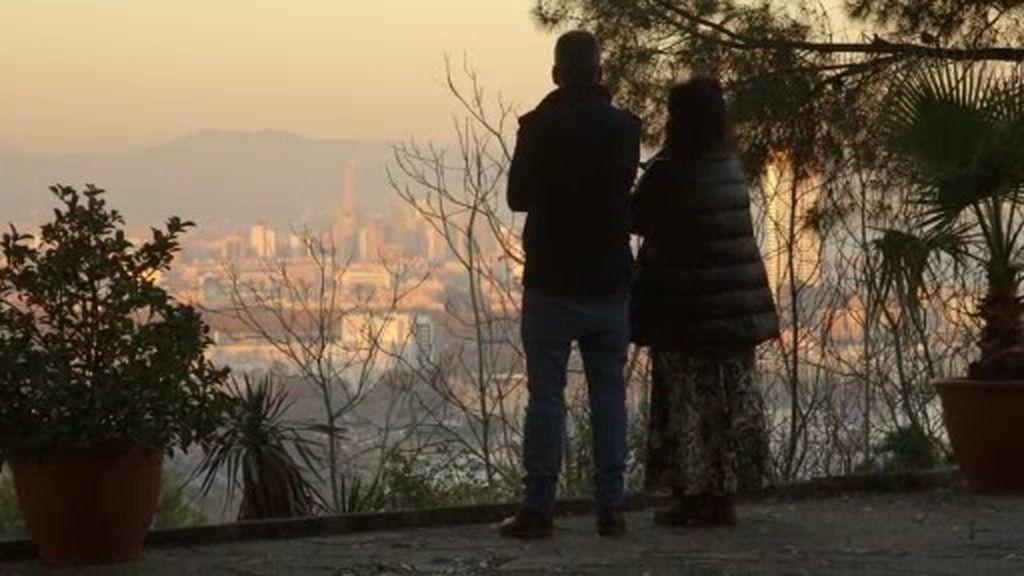 """Lita Cabellut, de Montjuïc: """"Miro lo bonito que está y veo bien que nos ha ido a ambos"""""""