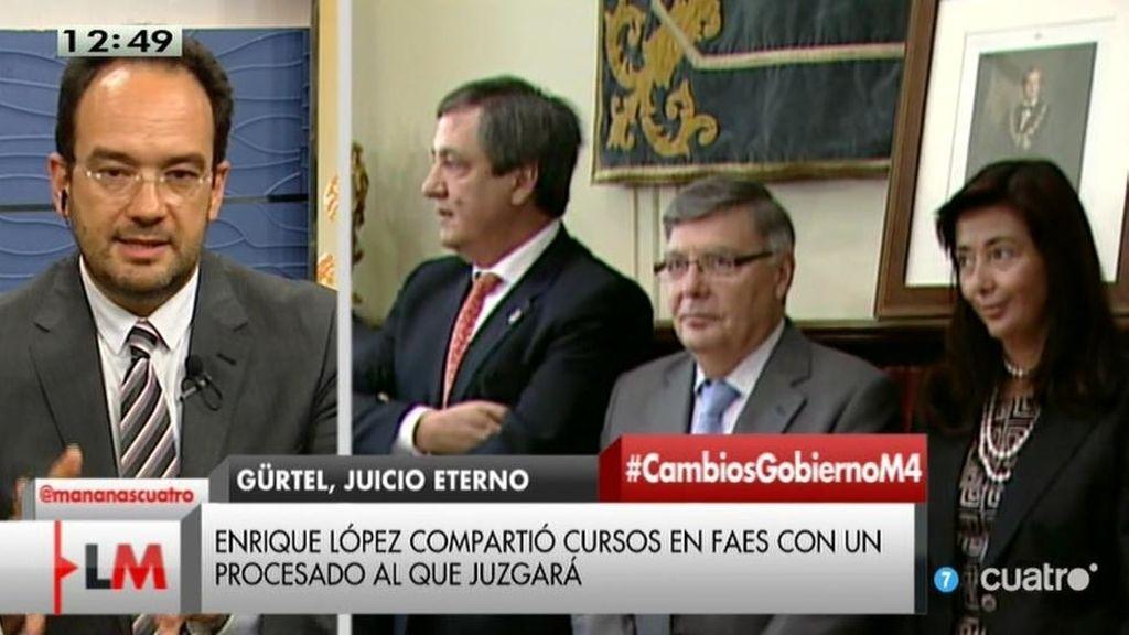 """Hernando, sobre la Gürtel: """"El juez Enrique López no tiene apariencia de imparcialidad"""""""