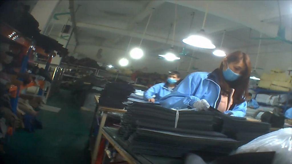Así son las fábricas clandestinas chinas
