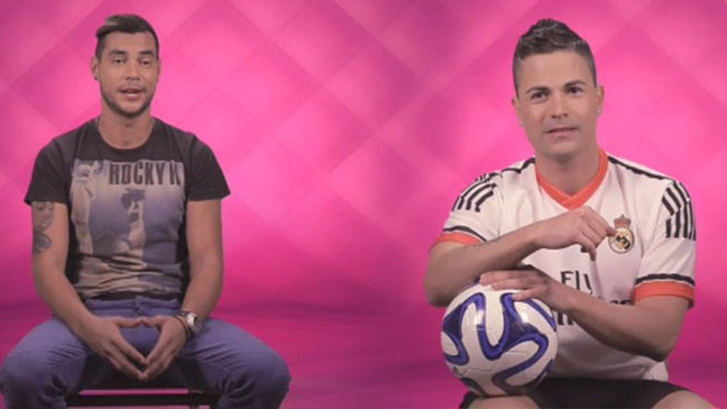 Un portugués que no habla español y un futbolero parco en palabras, seres 'únicos'