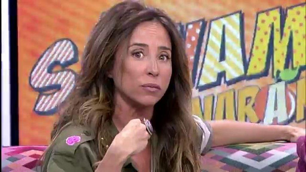"""María Patiño, del libro de Belén Esteban: """"No es una estafa"""""""