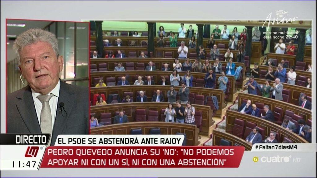 """P. Quevedo (Nueva Canarias): """"Si tras lo ocurrido no hay posibilidad de que Rajoy sea investido, sería para hacérnoslo mirar"""""""