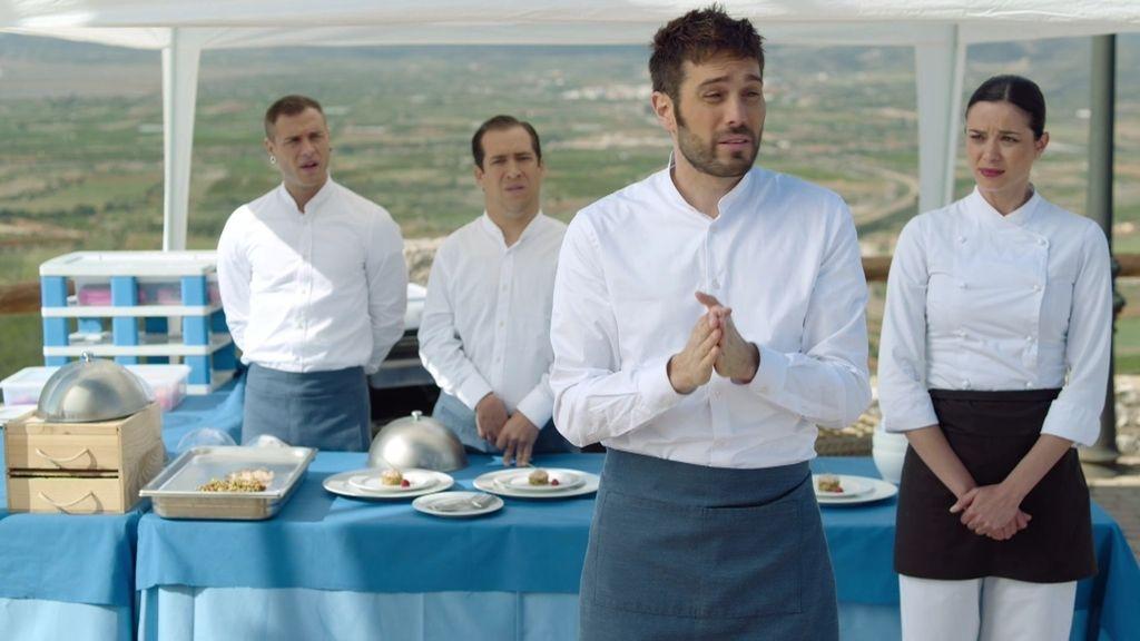 El catering menos contundente de Sergi Roca