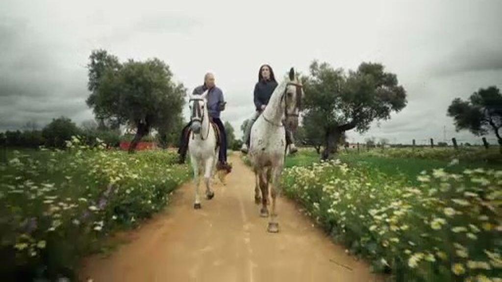 """Malú: """"Yo vivía para el caballo y cuando empecé en la música tuve que dejarlo"""""""