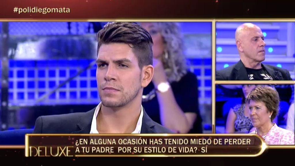 El polideluxe confirma que Diego Matamoros quiere a su padre Kiko