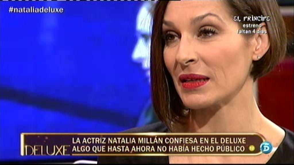 """Natalia Millán: """"El padre de mi hija murió cuando ella tenía tan sólo cuatro años"""""""