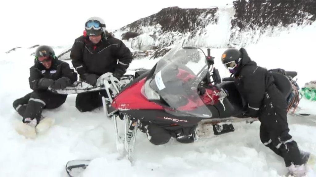 Primeros problemas en la expedición al Ártico
