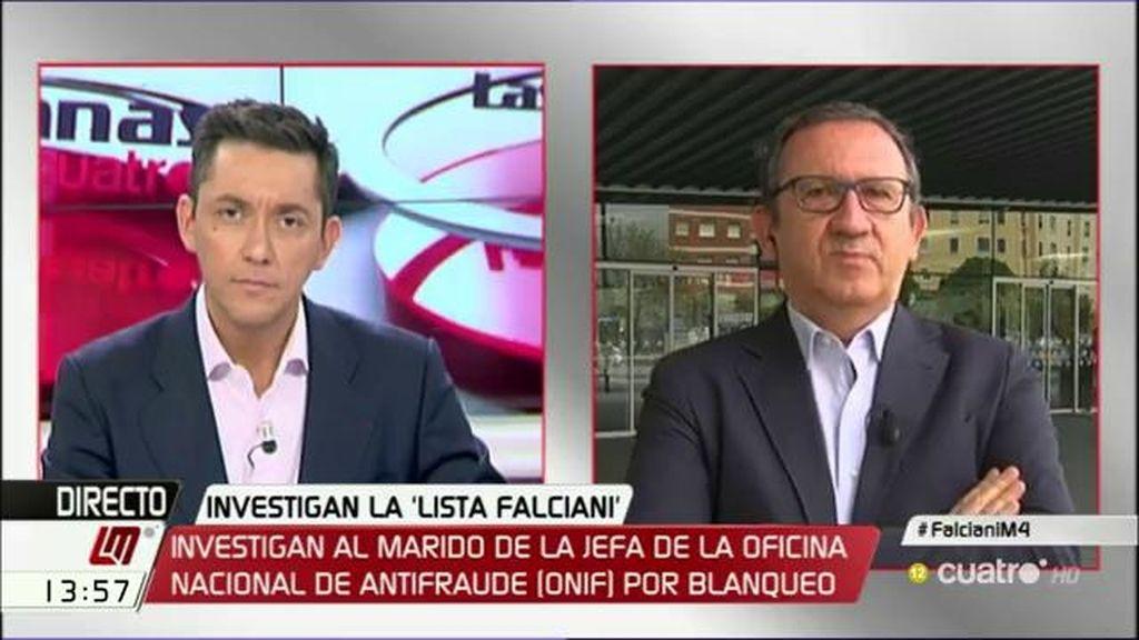 """Carlos Cruzado, de la directora de la Oficina Antifraude: """"Debería ser cesada si no dimite"""""""