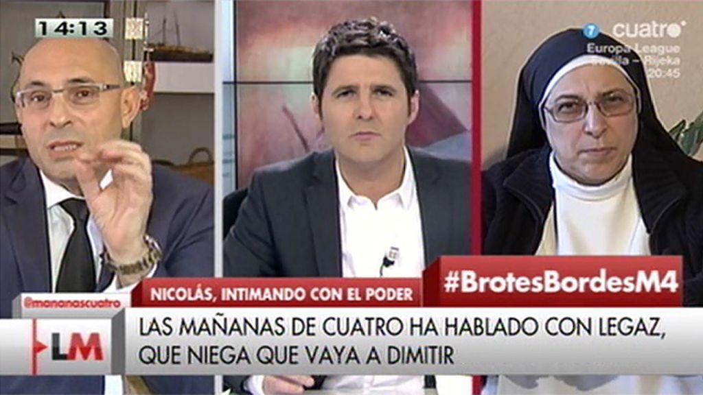 """E. Silva: """"El 'pequeño Nicolás' puede llevar a su crisis decisiva al gobierno"""""""