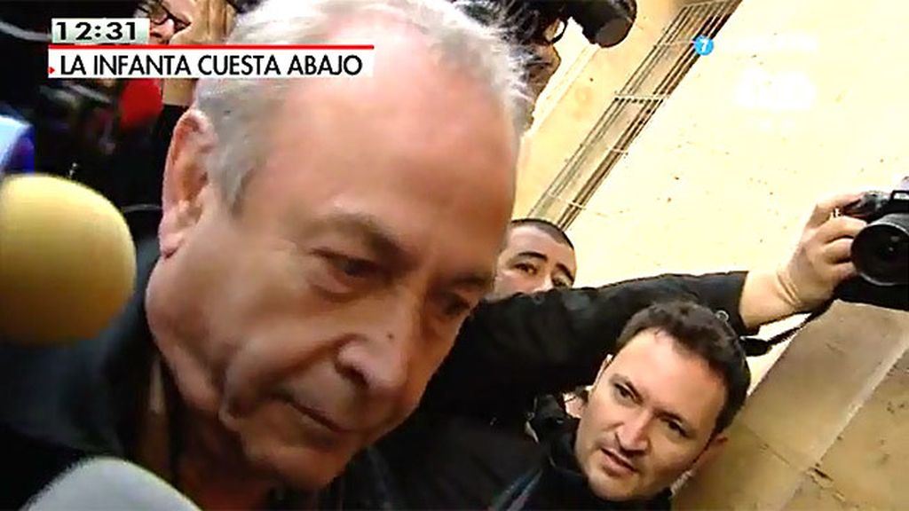 """El juez Castro: """"Estoy perfectamente bien"""""""