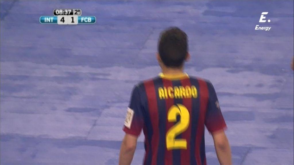 Gol de Aicardo (Inter 4-1 Barcelona)