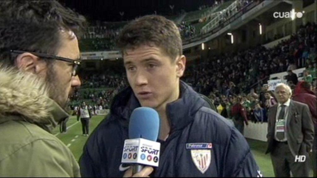"""Ander Herrera: """"Somos jugadores de Primera y podríamos haber ofrecido algo mejor"""""""