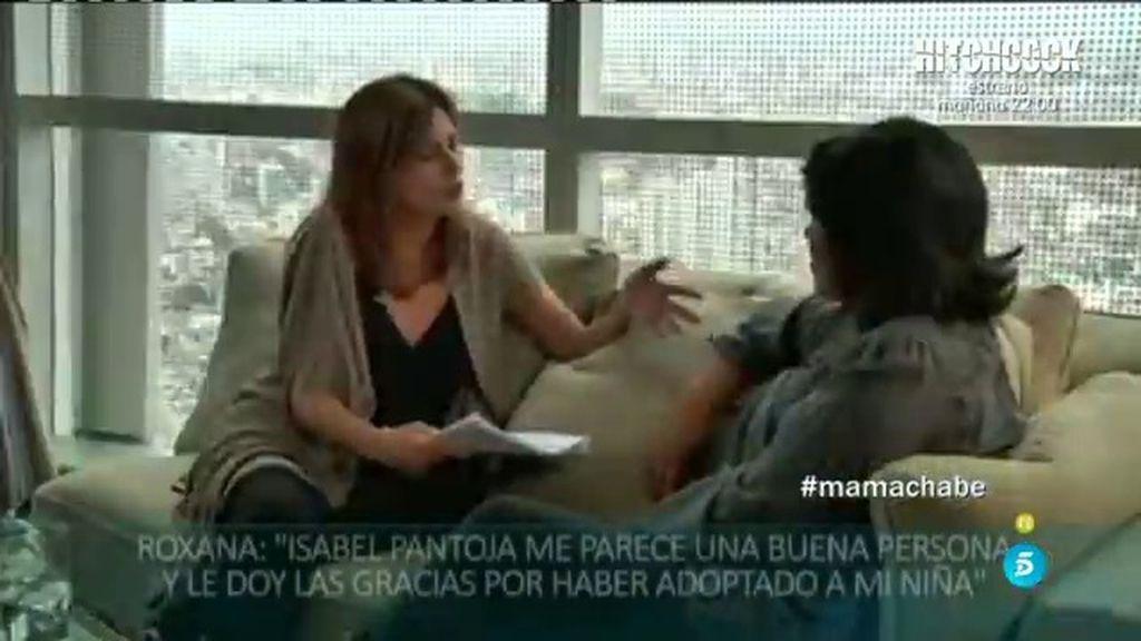 """Roxana: """"Me alegré mucho al saber que Isabel Pantoja había adoptado a mi hija"""""""