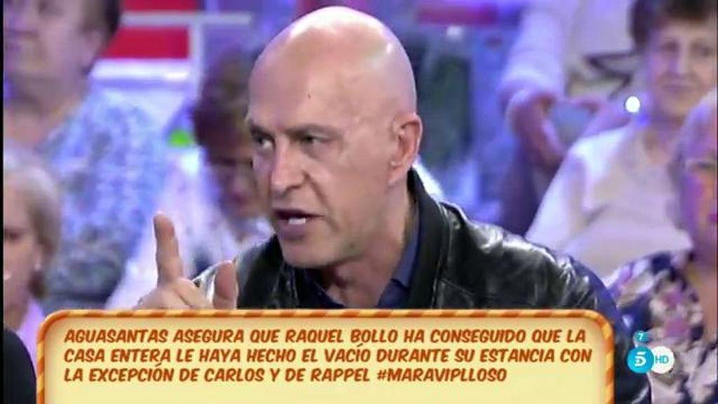 """Kiko Matamoros, a Aguasantas: """"Una cosa es venir a remover el concurso y otra hacer daño"""""""