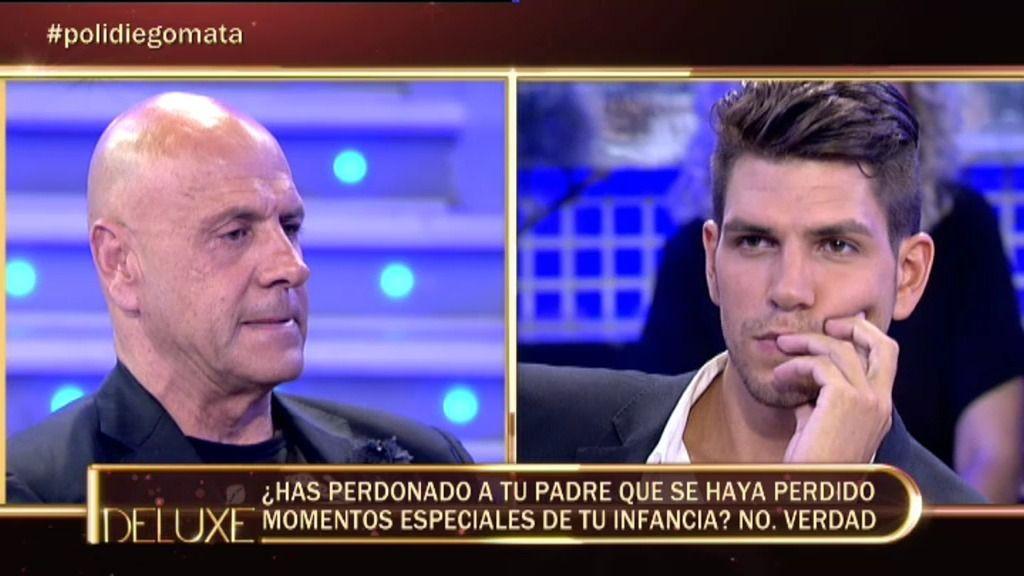 Diego Matamoros no ha perdonado que su padre se haya perdido parte de su infancia