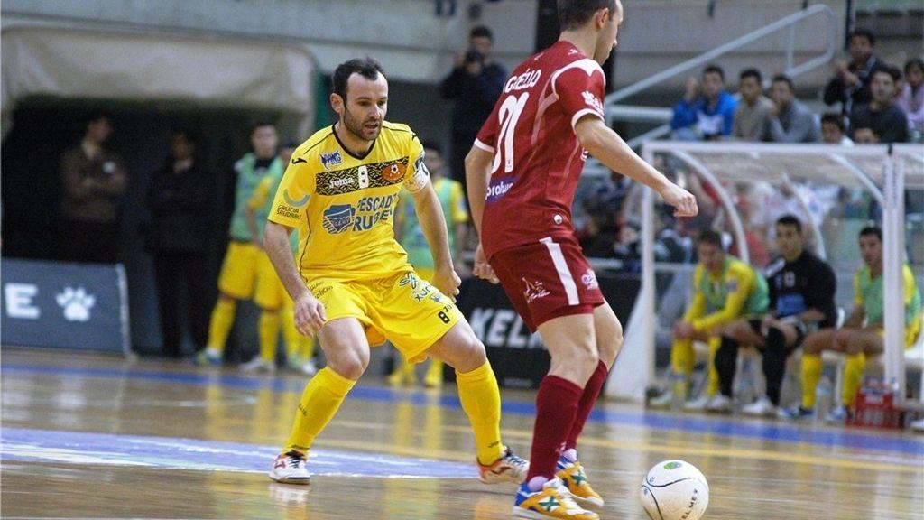 ElPozo Murcia pierde su primer partido en casa ante el Burela Pescados Rubén (3-4)