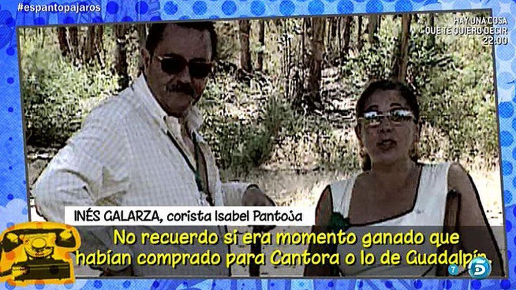 """Inés Galarza, corista de la tonadillera: """"Julián Muñoz tenía abducida a Isabel Pantoja"""""""