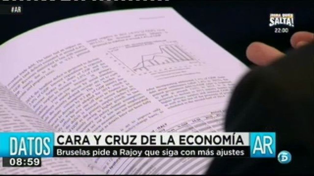 Bruselas pide a Rajoy nuevos recortes
