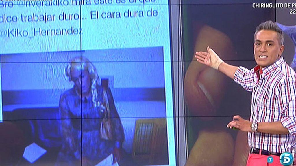"""Kiko Rivera responde a Kiko Hernández por Twitter y le califica de """"cara dura"""""""