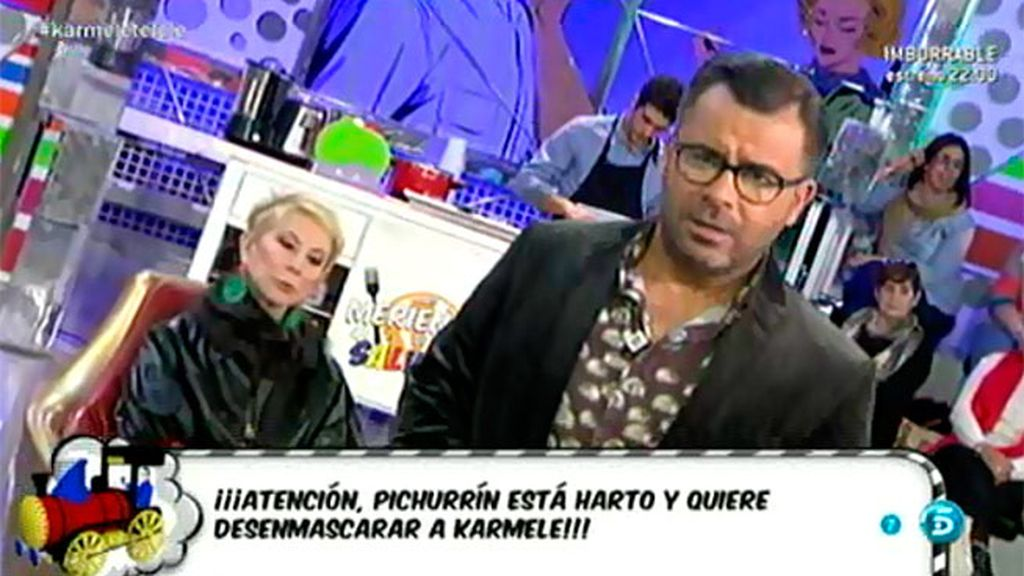 Diego Soto podría hablar y contar cómo ha sido su vida al lado de Karmele Marchante