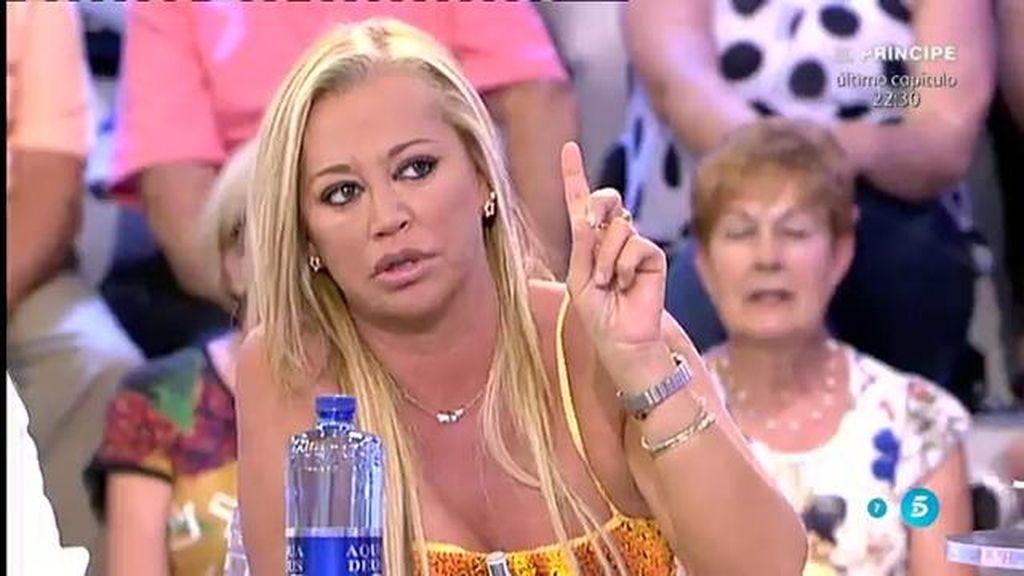 "Belén Esteban responde a Olvido Hormigos: ""Miguel no ha estado conmigo por interés"""