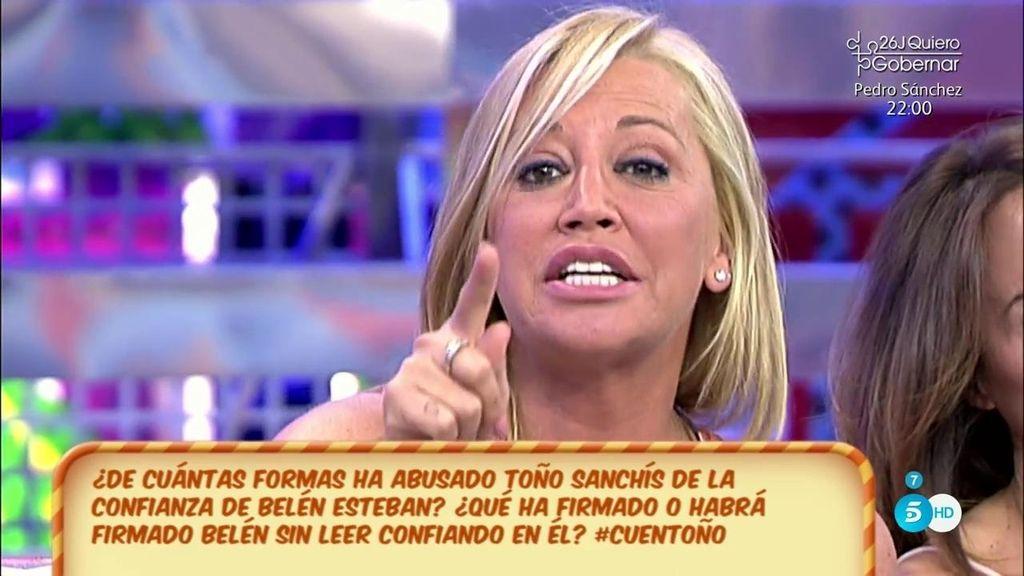 Belén Esteban contesta a Ángela Portero