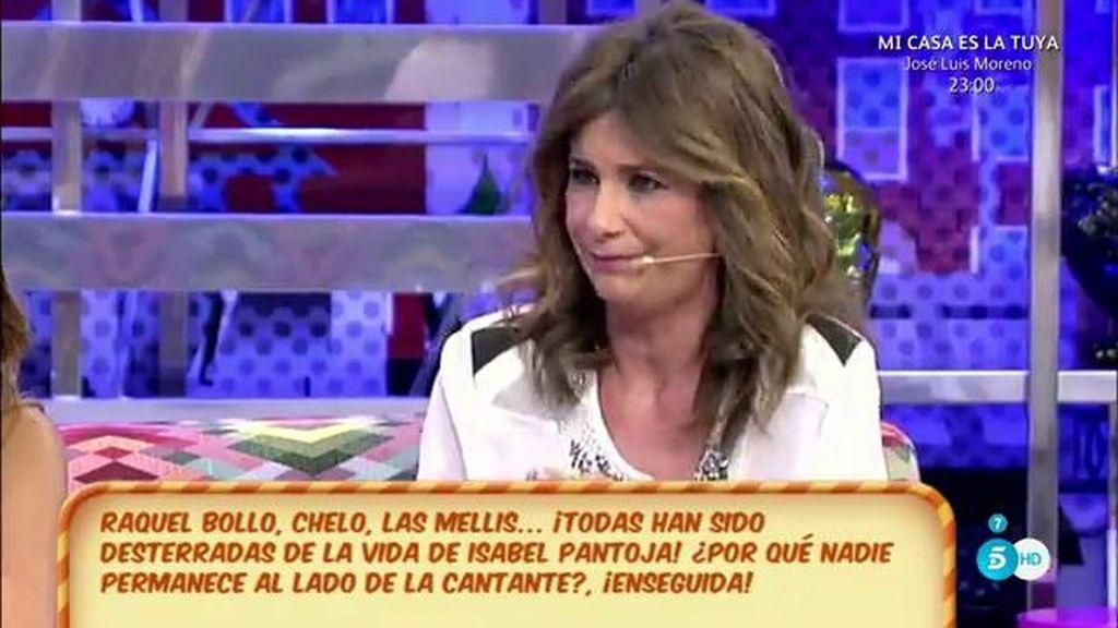 """Gema López, de Isabel Pantoja: """"No tiene ilusión por nada"""""""