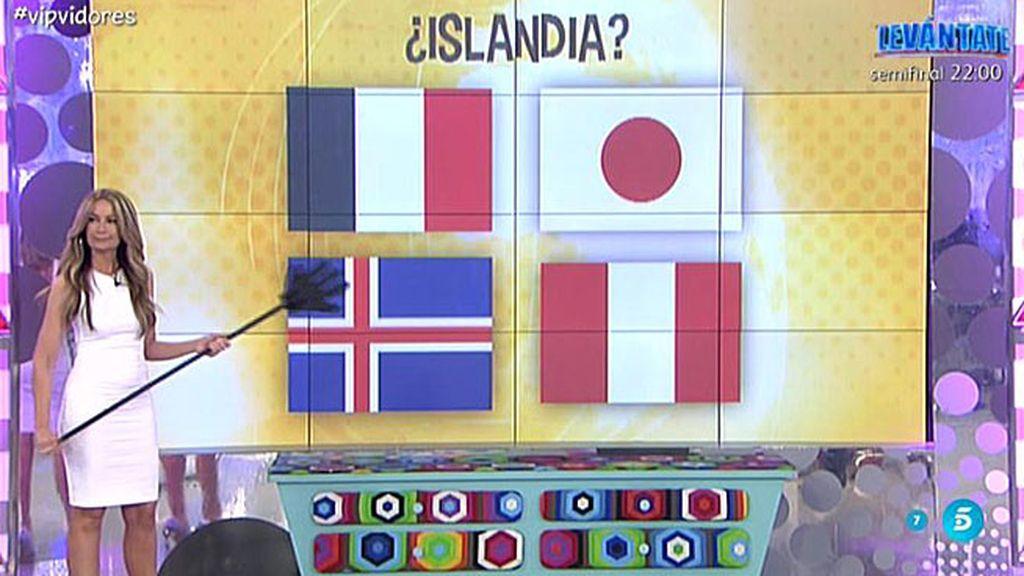 Olvido, dudosa con las banderas de los países