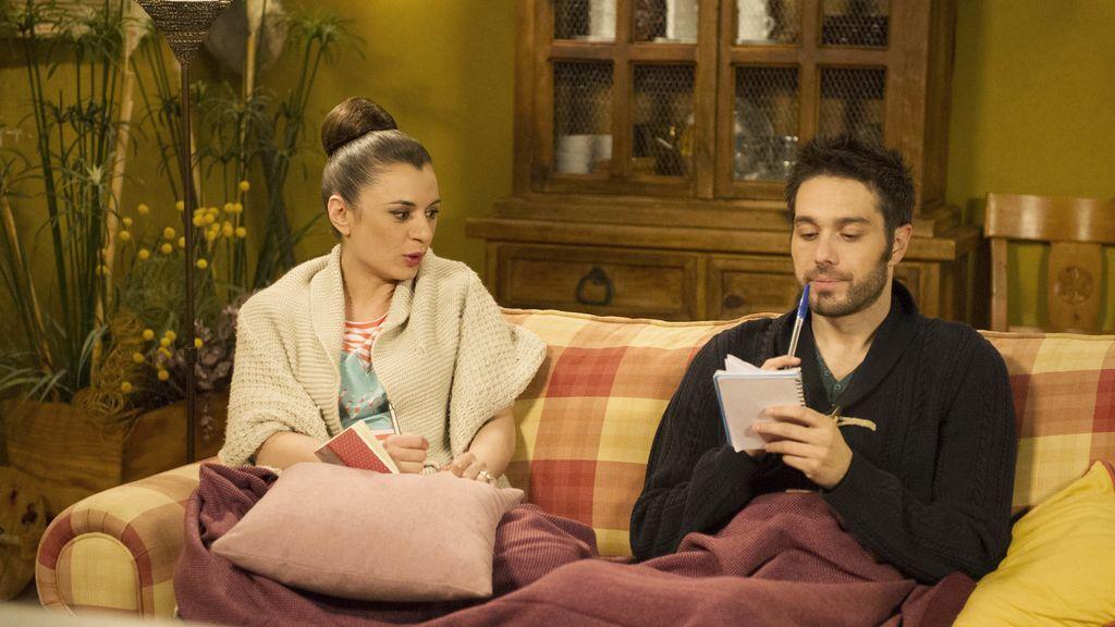 Soraya y Simón, ¡encuentro en la casa rural!