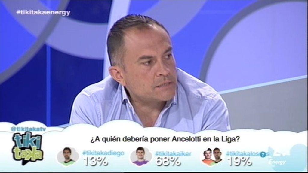 """Alberto Cuéllar: """"Quitarle ahora la portería a Diego López en Liga es una falta de respeto"""""""