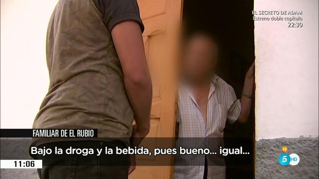 La infancia de 'El Rubio': Su madre era prostituta y su padre alcohólico