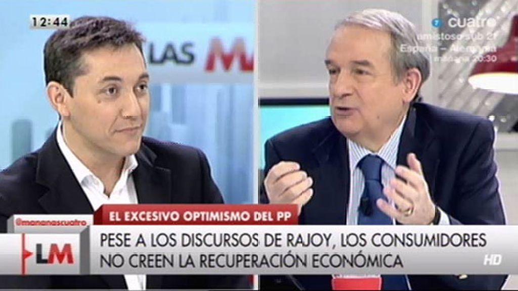 """Javier Ruiz: """"Me sorprende Rajoy porque está cogiendo los tics de Zapatero"""""""