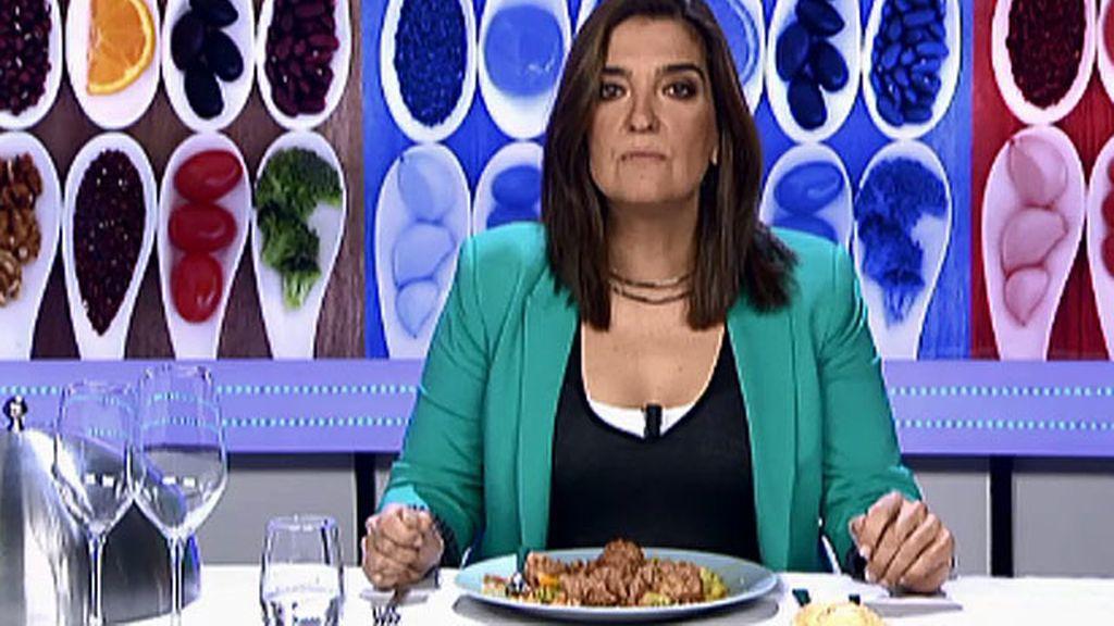 """María Jiménez Latorre, sobre las albóndigas de Dori: """"Es comida de rancho"""""""